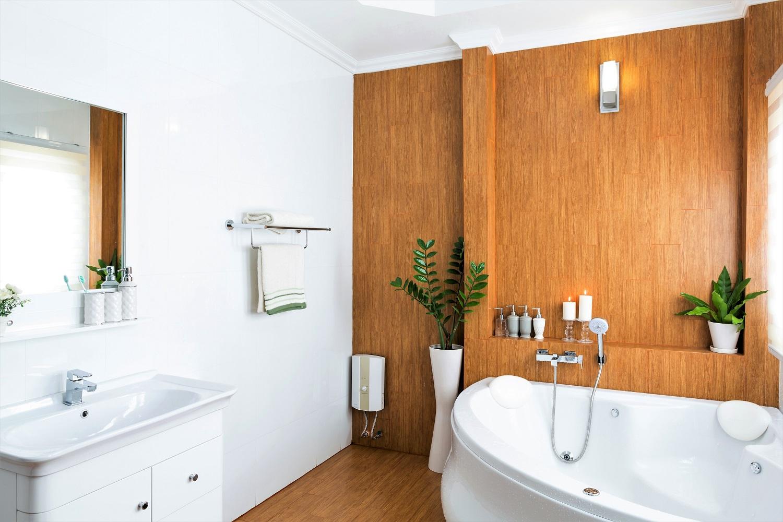 salle de bain vasque douche spa baignoire carrelage meuble sur mesure